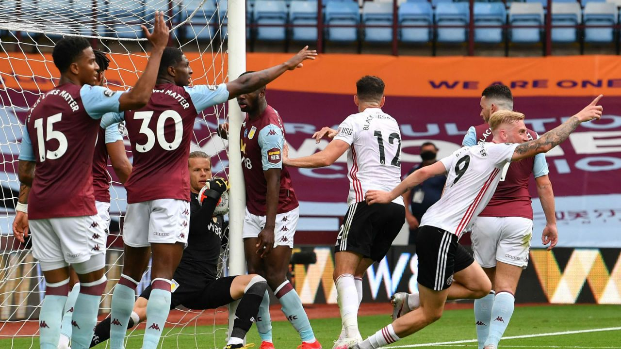 Aston Villa / Sheffield United / شفیلد یونایتد / استون ویلا