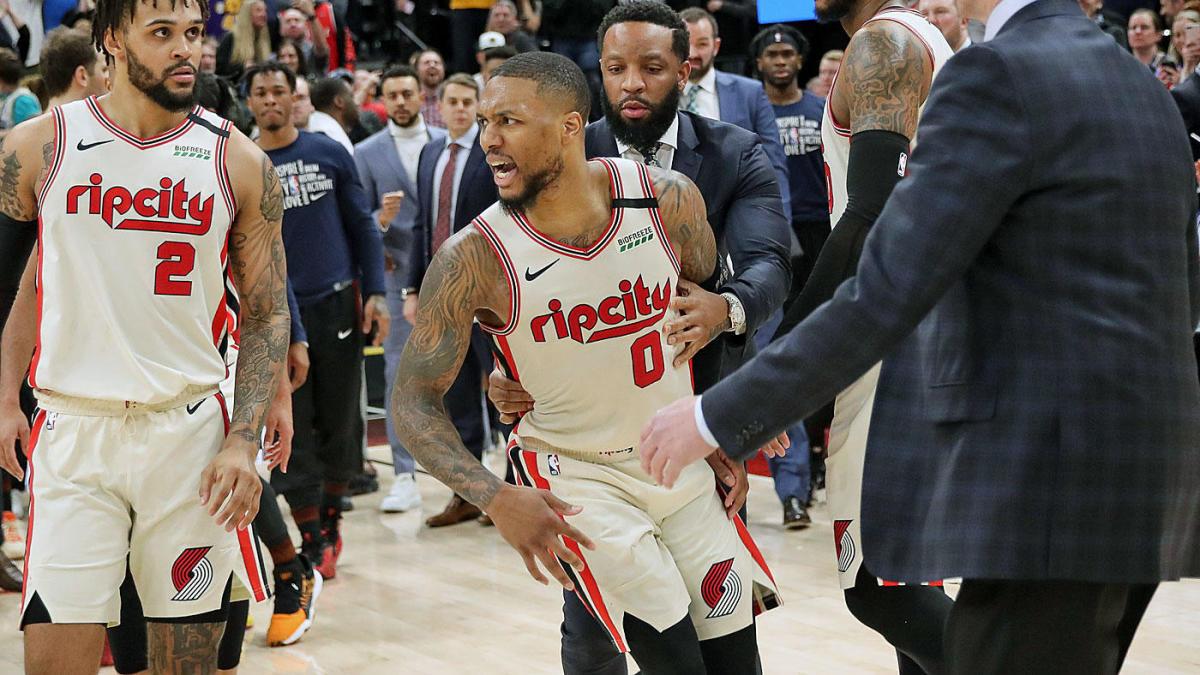 بسکتبال-یوتا جز-پورتلند تریل بلیزرز-NBA Basketball