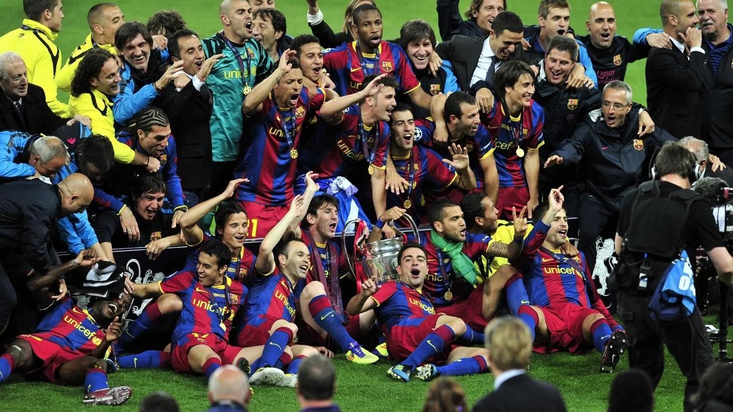بارسلونا / لیگ قهرمانان اروپا / اینفوگرافیک / اروپا
