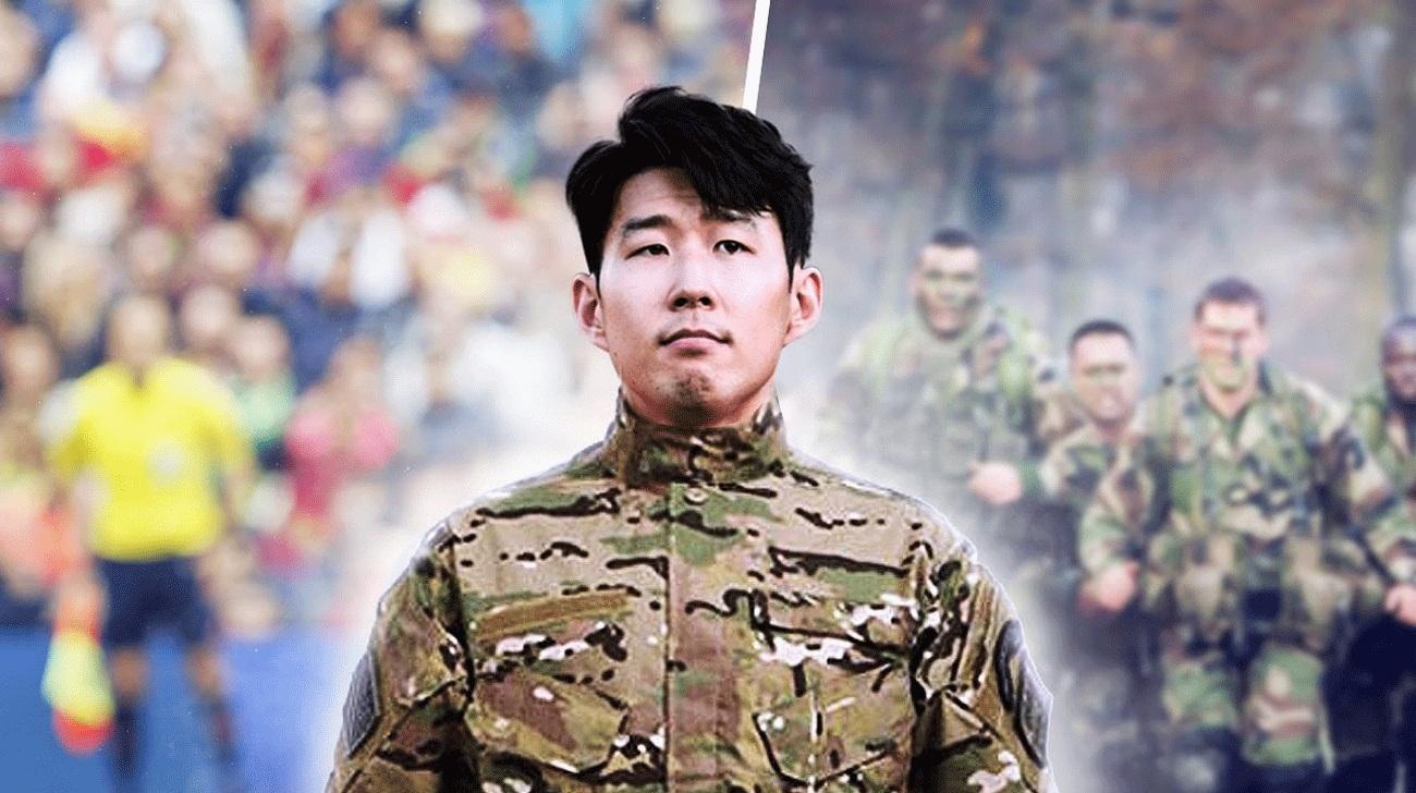 خدمت سربازی سون هیونگ مین-تاتنهام-کره جنوبی