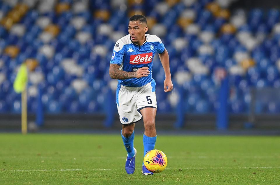 سری آ/ناپولی/هافبک برزیلی/Serie A/Napoli/Brazilain midfielder
