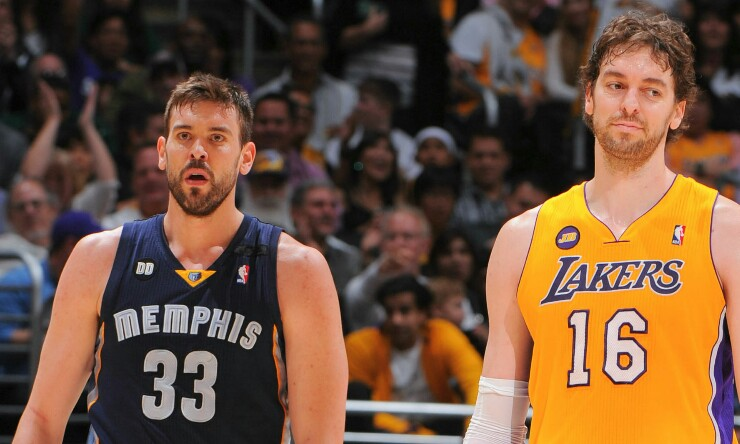 بسکتبال NBA / برادران ورزشکار