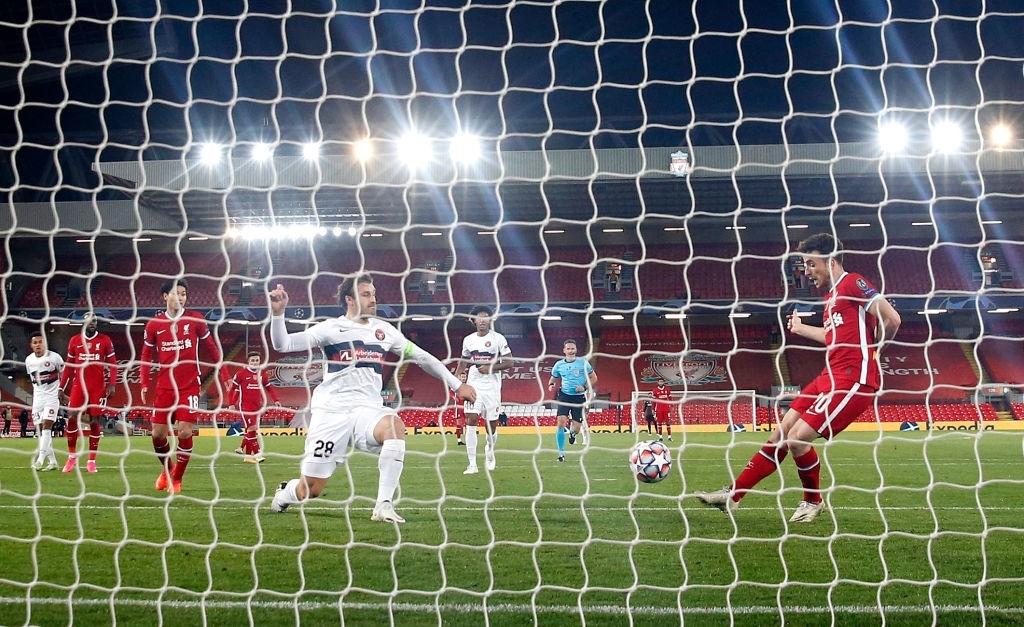لیورپول / لیگ قهرمانان اروپا / Liverpool / UEFA Champions League / گلزنی مقابل میتیولن / 10هزارمین گل تاریخ باشگاه