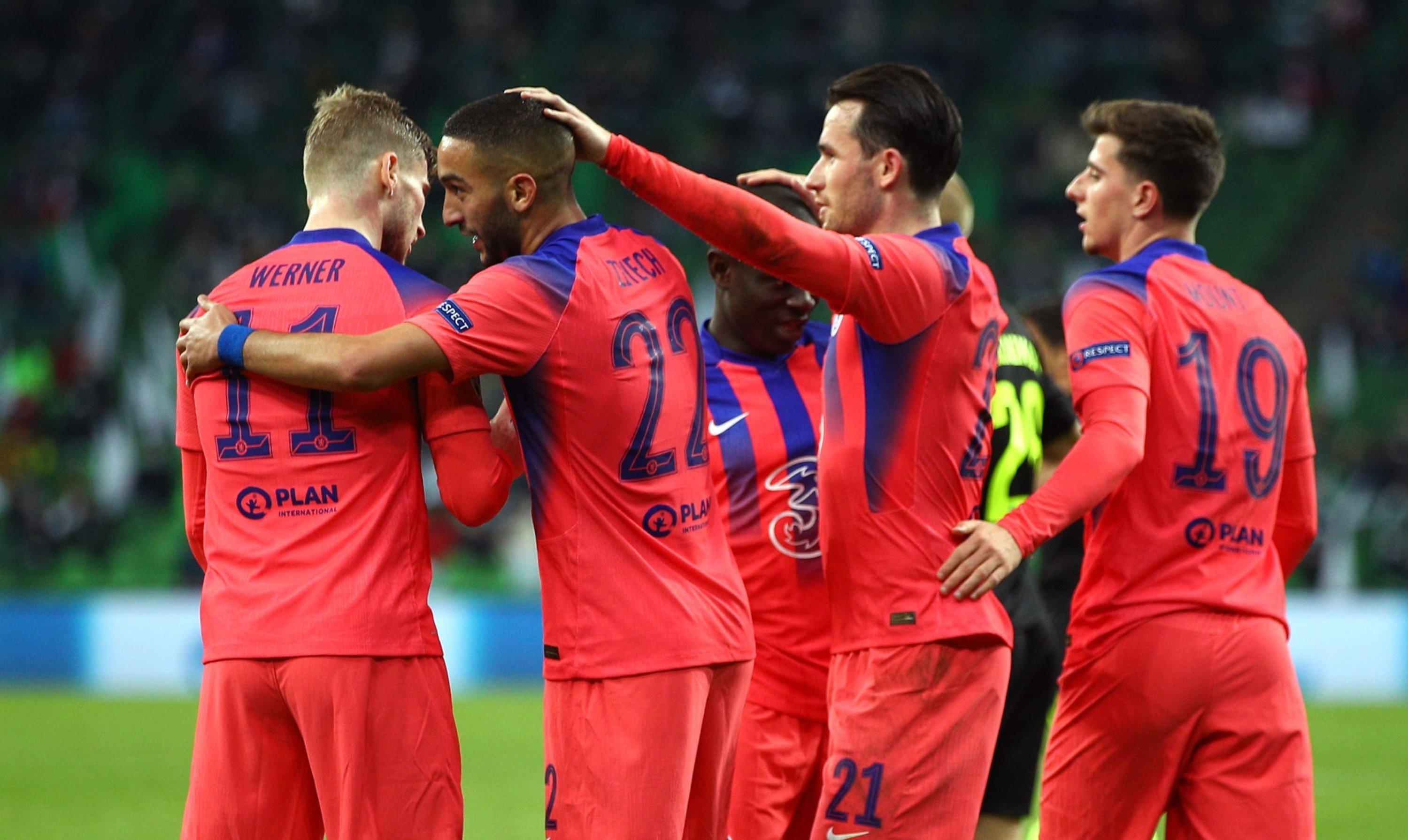 چلسی / لیگ قهرمانان اروپا / Chelsea / UEFA Champions League / گلزنی مقابل کراسنودار