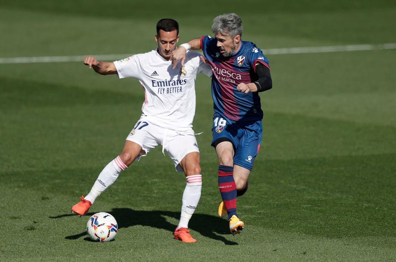 رئال مادرید / هوئسکا / لالیگا / اسپانیا / Real Madrid / Laliga / Huesca / Spain