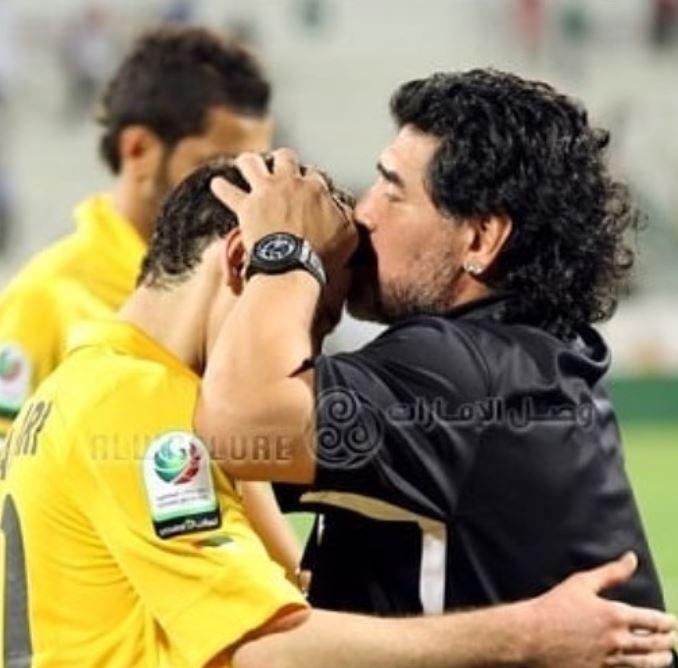 محمدرضا خلعتبری و مارادونا