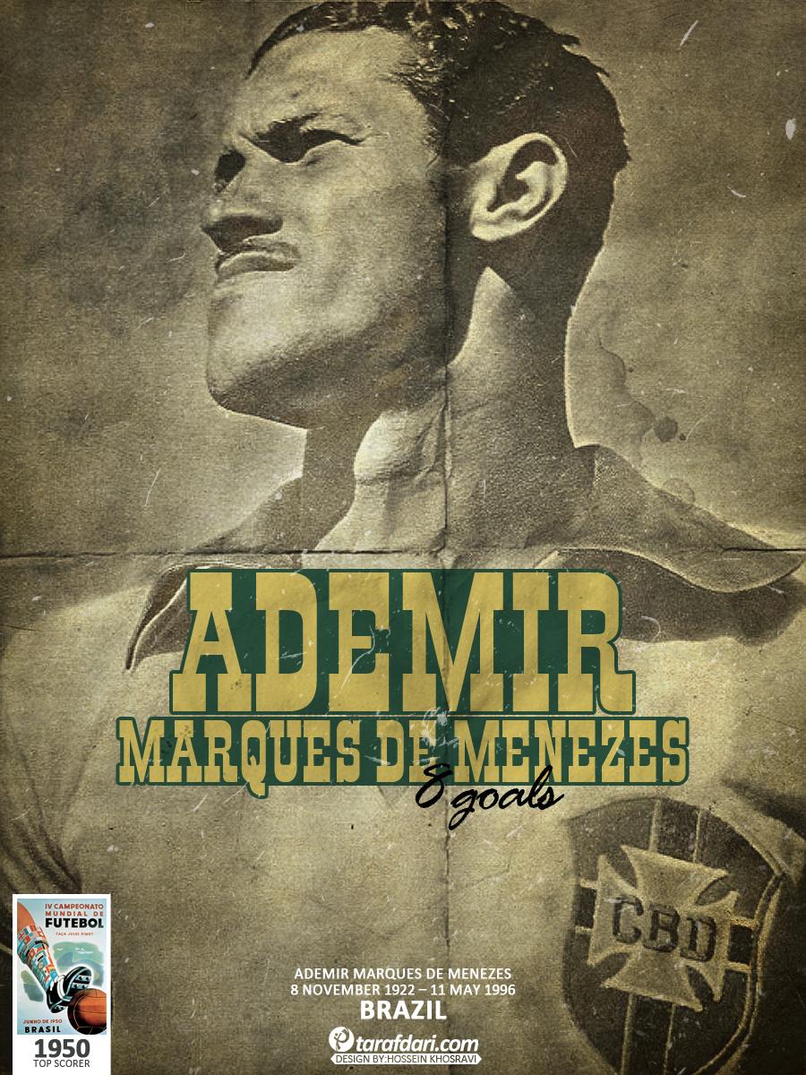 آدمیر آقای گل جام جهانی 1950