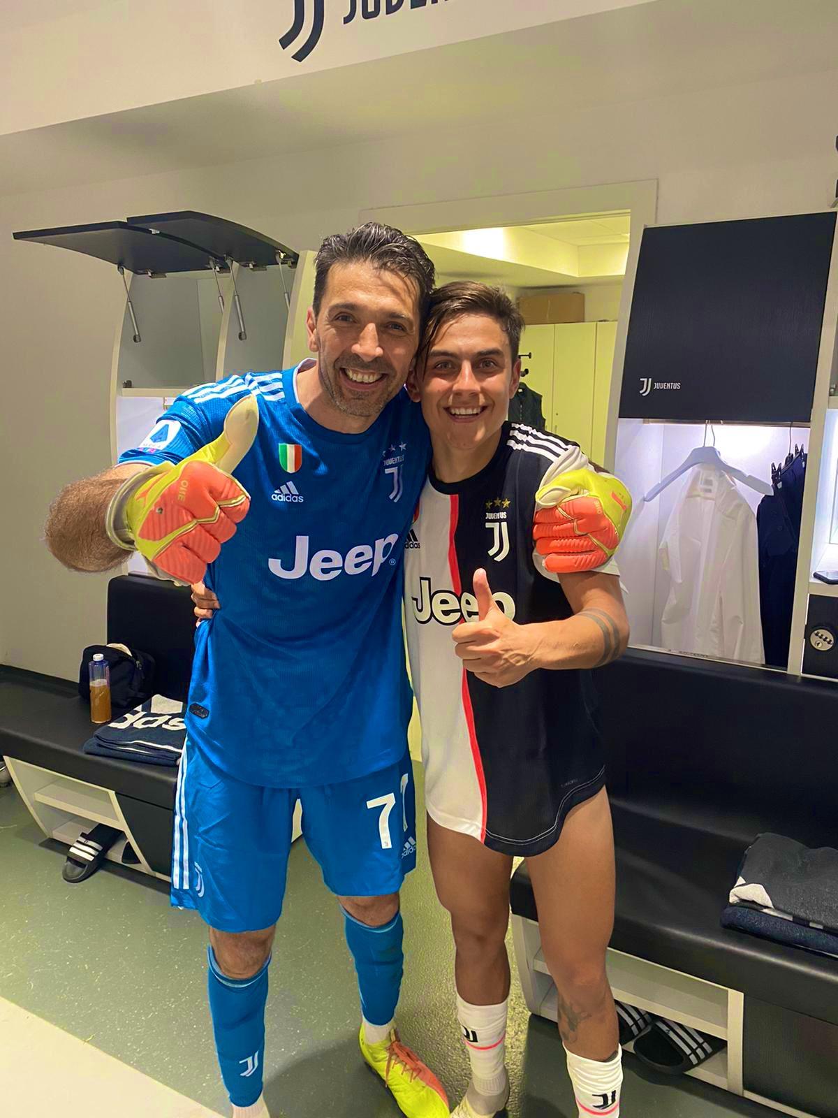 Gianluigi Buffon & Paulo Dybala / جانلوییجی بوفون و پائولو دیبالا